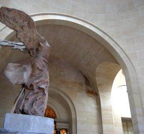 To αριστούργημα και διασημότερο έκθεμα του Λούβρου, η ''Νίκη της Σαμοθράκης'' σε νέα έκθεση στο Παρίσι! Η περίφανη ελληνική σιλουέτα πάλι πρώτο θέμα! (Φωτό) - Κυρίως Φωτογραφία - Gallery - Video