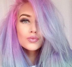 15 γυναίκες που θυμίζουν πριγκίπισσες παραμυθιών, θα σας κάνουν να καταλάβετε γιατί το παστέλ χρώμα μαλλιών γίνεται trend! (φωτό) - Κυρίως Φωτογραφία - Gallery - Video