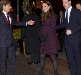 Έφτασε το Πριγκιπικό ζεύγος Γουίλιαμ - Κέιτ στη Ν. Υόρκη: Η έγκυος φορούσε μίνι παλτό, από το χεράκι την κρατάει το βασιλόπουλο! (Φωτό) - Κυρίως Φωτογραφία - Gallery - Video