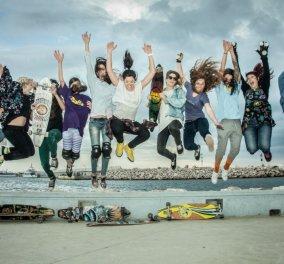 Top Women οι Ελληνίδες κούκλες με τα... μεγάλα σανίδια! Τρέχουν με τα longboard τους & τρελαίνουν κόσμο! - Κυρίως Φωτογραφία - Gallery - Video