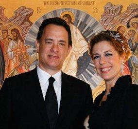 Tο Ελληνικό Πάσχα των Ρίτα Γουίλσον & Τομ Χανκς: «Δεν γιορτάζουμε με παστέλ κουνελάκια το Πάσχα. Γιορτάζουμε Ελληνικά...»  - Κυρίως Φωτογραφία - Gallery - Video