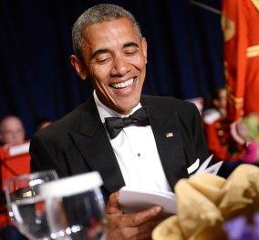 Οι μπηχτές του Ομπάμα & γέλια πολλά στο δείπνο των ανταποκριτών του Λευκού Οίκου - Χίλαρι & αυτοσαρκασμός  - Κυρίως Φωτογραφία - Gallery - Video