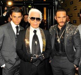 Τον αρρενωπό σωματοφύλακα του έβαλε ο Karl Lagerfeld πρωταγωνιστή της νέας του κολεξιόν για άνδρες - Τι λέτε; (φωτό) - Κυρίως Φωτογραφία - Gallery - Video
