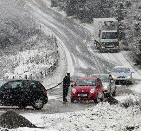 Σε κλοιό χιονιά η Ελλάδα - «Ελεύθερη πτώση» της θερμοκρασίας σε όλη τη χώρα - Στα λευκά ντύθηκε η Θεσ/νίκη! - Κυρίως Φωτογραφία - Gallery - Video