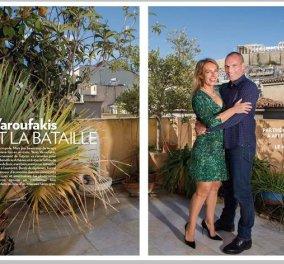 Η φωτογράφιση του Γ. Βαρουφάκη & της Δ. Στράτου στο σπίτι τους για τo Paris Match - «Ήθελα να γίνω πιανίστας» δήλωσε ο Έλληνας ΥΠΟΙΚ! - Κυρίως Φωτογραφία - Gallery - Video