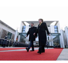 """Πώς """"είδε"""" τη συνάντηση Μέρκελ-Τσιπρα ο γερμανικός Τύπος - Τι γράφουν Spiegel, FAZ και Frankfurter Allgemein - Κυρίως Φωτογραφία - Gallery - Video"""