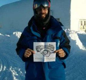 Made In Greece: Ο Ανδριανός Γολέμης, ο Έλληνας γιατρός που εργάζεται στην Ανταρκτική υπό ακραίες συνθήκες - Έρχεται στις 17/1 στο Hub Events - Κυρίως Φωτογραφία - Gallery - Video