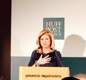 Πολύ συγκινημένη η Αριάννα Huffington Στασινοπούλου τώρα στην Αθήνα: ''Η Ελλάδα στα κύτταρα μου''! Δείτε αποκλειστικές φωτό! - Κυρίως Φωτογραφία - Gallery - Video