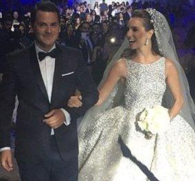Ένας γάμος χίλιες & μία νύχτες της ζάμπλουτης Ταμάρα με τον Έλληνα καλλονό Λεωνίδα  - Κυρίως Φωτογραφία - Gallery - Video
