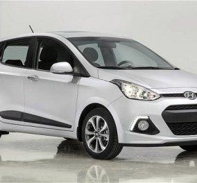 Αυτοκίνητο: Καλύτερο αυτοκίνητο πόλης ψηφίστηκε για δεύτερη συνεχόμενη χρονιά το Hyundai i10 - Κυρίως Φωτογραφία - Gallery - Video