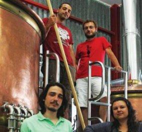 Made in Greece η «Άλη»: Η περιπλάνηση 4 φίλων από την Θεσσαλονίκη στον κόσμο της μπύρας - Κυρίως Φωτογραφία - Gallery - Video
