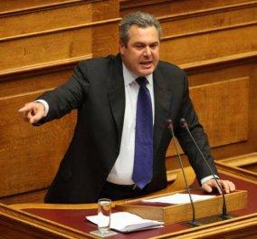 Ξέσπασε σε λυγμούς στη Βουλή ο Πάνος Καμμένος: ''Μας ζητούν να καταργήσουμε την Ελλάδα'' - Κυρίως Φωτογραφία - Gallery - Video