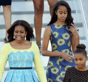 Η Αγγλία υποδέχεται επίσημα την Μισέλ Ομπάμα & τις κόρες της - Τσάι με τον πρίγκιπα Χάρυ & επίσκεψη στο Νο 10 - Κυρίως Φωτογραφία - Gallery - Video