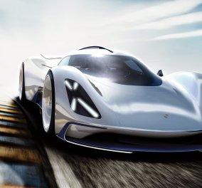 Στόμα ανοιχτό για την κούκλα: Το πρωτότυπο της Porsche για το Le Mans του 2035! - Κυρίως Φωτογραφία - Gallery - Video