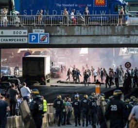 Γυαλιά - καρφιά στο Παρίσι: Ταξιτζήδες κατά της UBER  - Πυρπολημένα αυτοκίνητα, τραυματισμοί & συλλήψεις - Κυρίως Φωτογραφία - Gallery - Video