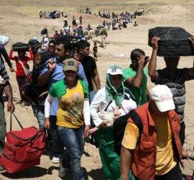60.000.000 ξεριζωμένοι αναζητούν πατρίδα - Η μεγαλύτερη ανθρωπιστική καταστροφή μετά τον Β' παγκόσμιο Πόλεμο  - Κυρίως Φωτογραφία - Gallery - Video