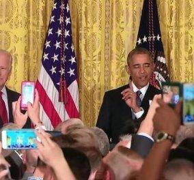 Αυτός ο τρανσέξουαλ επιτέθηκε στον Ομπάμα μέσα στο Λευκό Οίκο - ''Βγείτε έξω'' απάντησε ο Πρόεδρος - Κυρίως Φωτογραφία - Gallery - Video