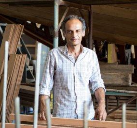 Made in Greece το ναυπηγείο του Θ. Τσίκη στο Πέραμα: Φτιάχνει ξύλινα παραδοσιακά σκάφη κόντρα στη μόδα των πλαστικών - Κυρίως Φωτογραφία - Gallery - Video