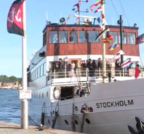 Δείτε το βίντεο με την χλιδάτη κρουαζιερα όλων των βασιλιάδων της Ευρώπης λίγο πριν το γάμο του πρίγκιπα της Σουηδίας με την παίκτρια reality - Κυρίως Φωτογραφία - Gallery - Video