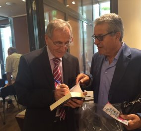 Η Όλγα και η Μάρα παρουσιάσαν το βιβλίο του Πάνου Σόμπολου - «Τα τραγικά γεγονότα της τελευταίας 35ετίας» - Κυρίως Φωτογραφία - Gallery - Video