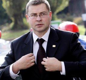 Ντομπρόβσκις:  «Η ευρωζώνη μπορεί να μπλοκάρει τη βοήθεια, αν καθυστερήσουν οι μεταρρυθμίσεις»  - Κυρίως Φωτογραφία - Gallery - Video