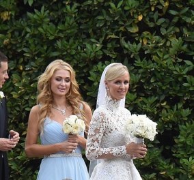 Γάμος της χρονιάς: H Πάρις Χίλτον κουμπάρα της πανέμορφης αδελφής της Νίκι με το νεαρό κροίσο Ρότσιλντ - Κυρίως Φωτογραφία - Gallery - Video