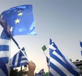 Σε εξέλιξη η συγκέντρωση «Μένουμε Ευρώπη»  στο Σύνταγμα - Κυρίως Φωτογραφία - Gallery - Video