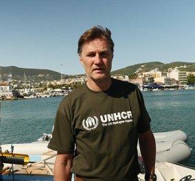 Ο Ντέιβ Μόρισεϊ σώζει μετανάστες στο νησί της Λέσβου - Τι λέει για αυτή την εμπειρία;   - Κυρίως Φωτογραφία - Gallery - Video