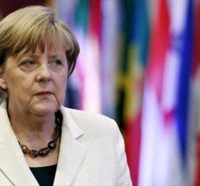 """Μερκελ: «Μετά από το σαφές """"όχι"""" στο ελληνικό δημοψήφισμα δεν υπάρχουν ακόμη οι βάσεις για να ξεκινήσουν διαπραγματεύσεις». - Κυρίως Φωτογραφία - Gallery - Video"""