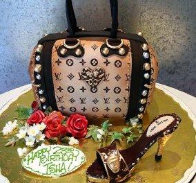 Διάσημες τσάντες που… τρώγονται! Τι θα λέγατε για τούρτα Cucci ή κέικ Louis Vuitton ?  - Κυρίως Φωτογραφία - Gallery - Video
