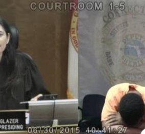 Δικαστής & κατηγορούμενος αντιλαμβάνονται πως υπήρξαν συμμαθητές-Δείτε το βίντεο - Κυρίως Φωτογραφία - Gallery - Video