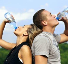 Αντίβαρο στον καύσωνα η σωστή ενυδάτωση! Πόσα υγρά χρειάζεται ένας άνδρας & πόσα μια γυναίκα  - Κυρίως Φωτογραφία - Gallery - Video