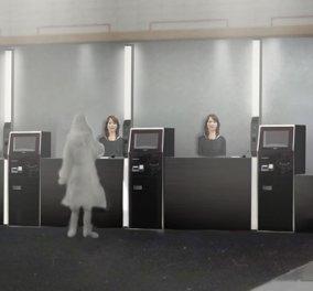 Henn na Hotel: Το πρώτο ξενοδοχείο στον κόσμο που στελεχώνεται με ρομπότ [Video] - Κυρίως Φωτογραφία - Gallery - Video