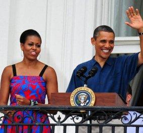 Με νέο πολύ κοντό κούρεμα γιόρτασε η Μισέλ Ομπάμα την 4η Ιουλίου στον Λευκό Οίκο - Δείτε την - Κυρίως Φωτογραφία - Gallery - Video