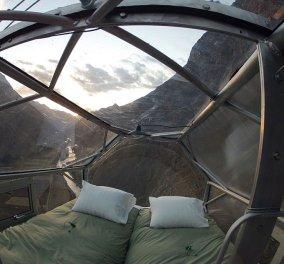 Τρομακτικό & συναρπαστικό: Kοιμηθείτε κρεμασμένοι στον βράχο - Ιπτάμενα δωμάτια με θέα την Ιερή Κοιλάδα του Περού  - Κυρίως Φωτογραφία - Gallery - Video