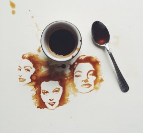Giulia Bernardelli: H 27χρονη Ιταλίδα που μετατρέπει τον χυμένο καφέ σε πραγματικά έργα τέχνης  - Κυρίως Φωτογραφία - Gallery - Video