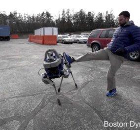 Εντυπωσιακό Βίντεο: Το νέο ρομπότ - Σκύλος της Google κάνει απίστευτα πράγματα!   - Κυρίως Φωτογραφία - Gallery - Video