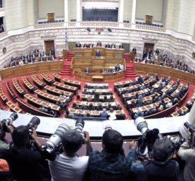Όλα όσα έγιναν στη πρωινή συνεδρίαση της Βουλής – Βίντεο και εικόνες - Κυρίως Φωτογραφία - Gallery - Video
