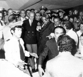 Οι δραματικοί διάλογοι & καρέ - καρέ η πτώση της Χούντας η επιστροφή Καραμανλή & πως ο Κωνσταντίνος δεν ήρθε ποτέ... - Κυρίως Φωτογραφία - Gallery - Video