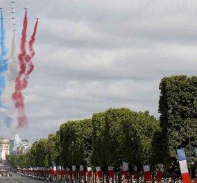 Αποκλειστικό: Φωτογραφίες από την Εθνική γιορτή της Γαλλίας: Η συγκίνηση του Π. Καμμένου, η Ντόρα & η Έλενα Παναρίτη   - Κυρίως Φωτογραφία - Gallery - Video