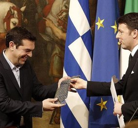 Ρέντσι: Δεν είμαστε πλέον «σύντροφοι στη δυστυχία» με την Ελλάδα - Κυρίως Φωτογραφία - Gallery - Video