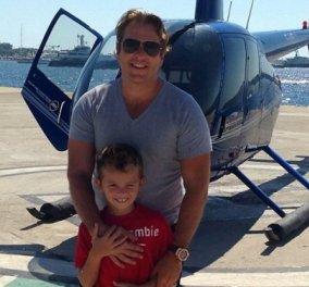 Αυτός ο πατέρας έχει ξοδέψει σχεδόν μισό εκατομμύριο λίρες για ταξίδια στο εξωτερικό για να δει το γιο του  - Κυρίως Φωτογραφία - Gallery - Video