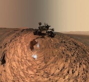 Ιδού το νερό στον Άρη! Το curiosity τράβηξε selfie με λεπτομέρειες του κόκκινου πλανήτη  - Κυρίως Φωτογραφία - Gallery - Video