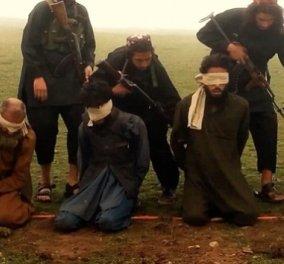 Βίντεο: Σκληρές εικόνες: Οι τζιχαντιστές στο Αφγανιστάν εκτελούν με βόμβες 10 αιχμαλώτους   - Κυρίως Φωτογραφία - Gallery - Video