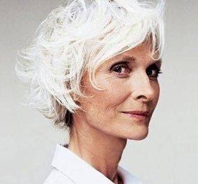 25 γυναίκες με λευκά μαλλιά (ναι λευκά) που είναι παγκόσμια μόδα!   - Κυρίως Φωτογραφία - Gallery - Video
