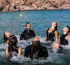 Drops of Breath: Στο Σούνιο μια υποβρύχια παράσταση χορού για πρώτη φορά στον κόσμο   - Κυρίως Φωτογραφία - Gallery - Video