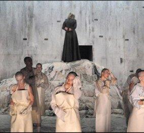 «Ιφιγένεια» με αίσιο τέλος στο Φεστιβάλ Επιδαύρου με την κορυφαία ηθοποιό Αμαλία Μουτούση    - Κυρίως Φωτογραφία - Gallery - Video