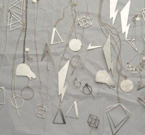 Made in Greece o Γιώργος Βαβυλουσάκης & τα γεωμετρικά υπέροχα κοσμήματα MOODLIKEME  - Κυρίως Φωτογραφία - Gallery - Video