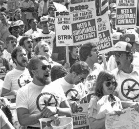 Vintage Pics: 1981 - 13.000 ελεγκτές εναέριας κυκλοφορίας απεργούν & ο Ρήγκαν τους απολύει όλους - Κυρίως Φωτογραφία - Gallery - Video