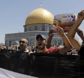 200 Ισραηλινοί Άραβες διαδήλωσαν υπέρ Παλαιστίνιου ισλαμιστή απεργού πείνας - Έπεσε σε κώμα την Παρασκευή  - Κυρίως Φωτογραφία - Gallery - Video
